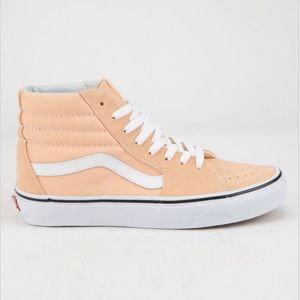 Peachy🍑 NEW High Top Vans